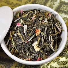 Glückstrank Grüner loser Tee mit Zitronengras für alle Sinne