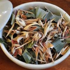 Zitronengras Pandanus Tee Thailand Mischung getrocknet