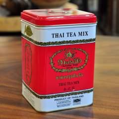 Thai Tea Mix Red in originaler Dose, leckerer Thai Tee zum Servieren auf Eis