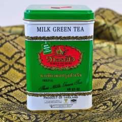 Milk Green Tea - Thai Tee, der leckere Grüntee zum Mischen mit süßer Sahne und Milch auf Eis servieren